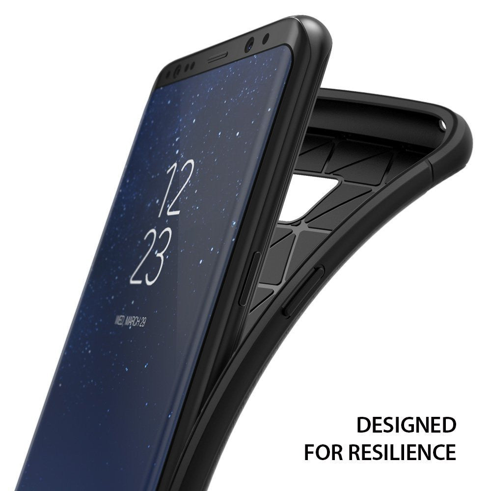 Samsung Galaxy S8 Plus Case, Ringke®[ONYX] Flexible Durability and TPU Defensive Case