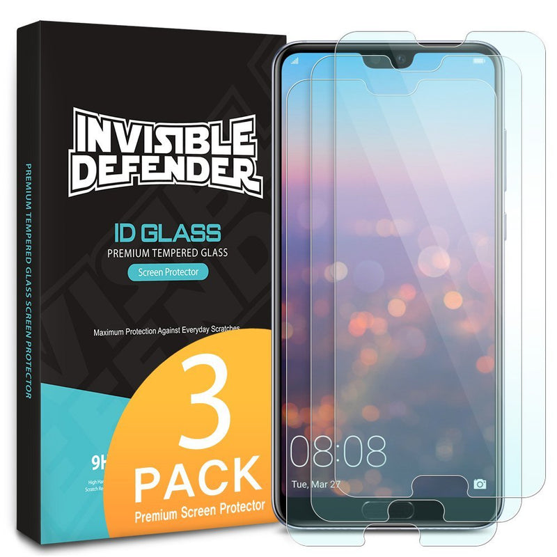 Huawei P20 Pro [Tempered Glass 0.33mm] [3 Pack]