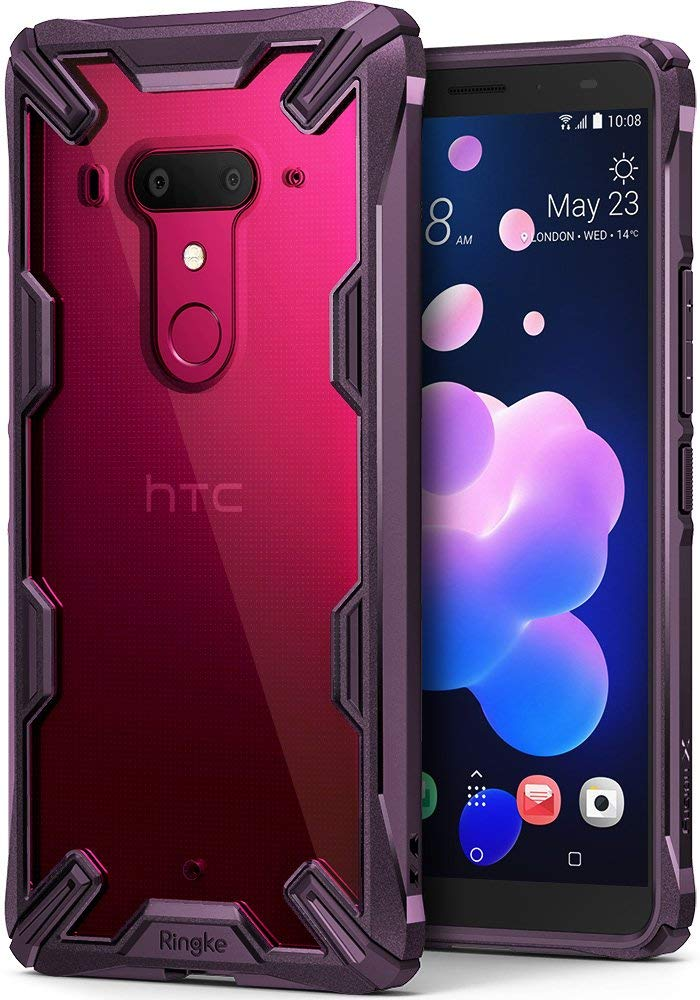 htc u12 plus fusion-x case lilac purple