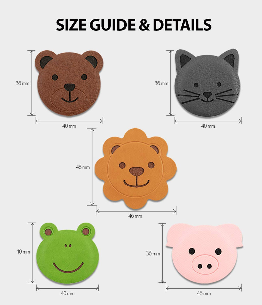 ringke magnetic character metal plate kit animal edition size guide