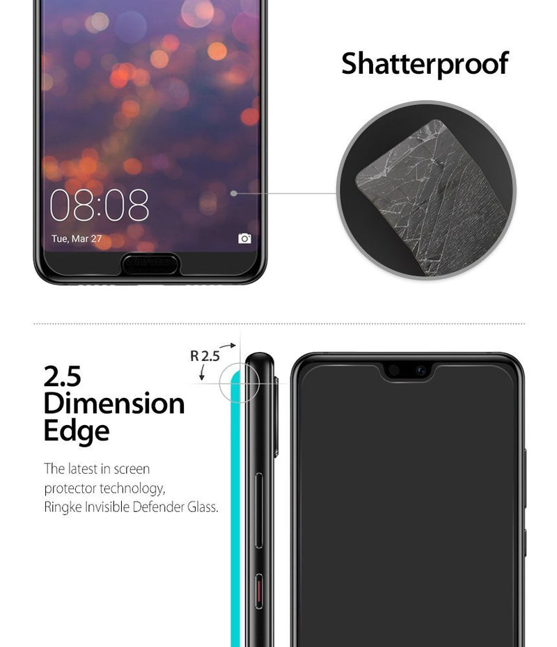 huawei p20 pro tempered glass 0 33mm 3 pack