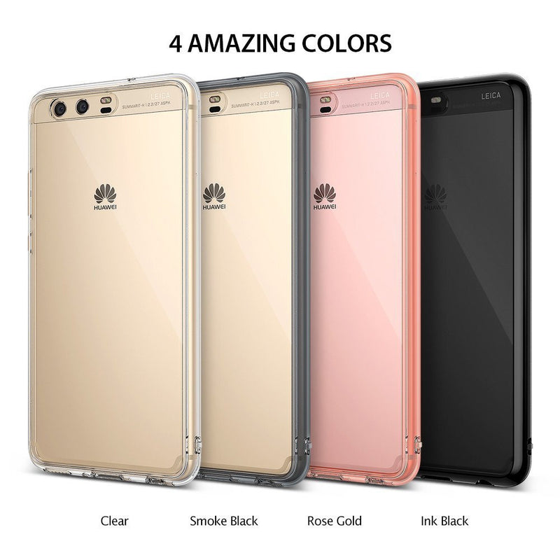 Huawei P10 Case, Ringke® [FUSION] Crystal Clear PC Back TPU Bumper Case
