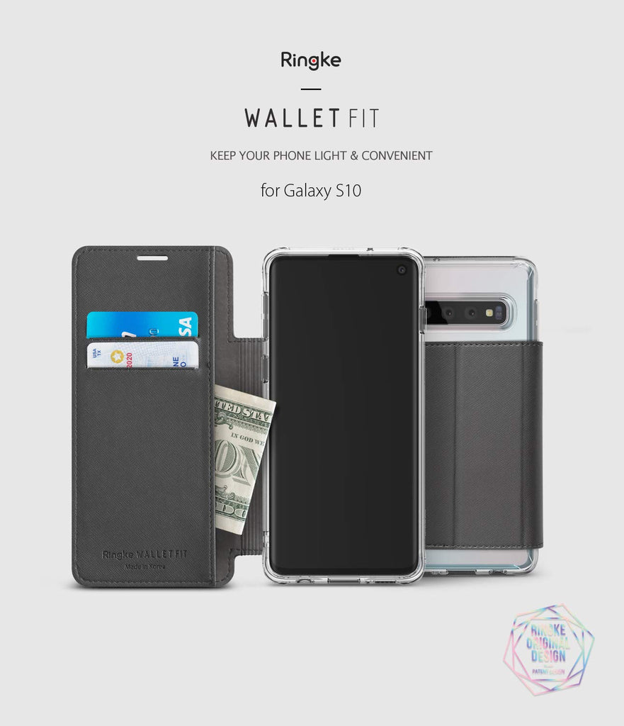ringke wallet fit for galaxy s10