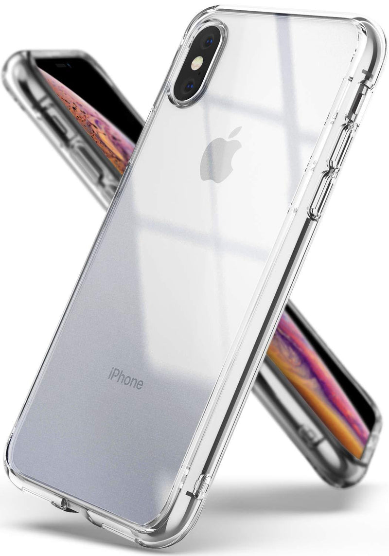 iphone xs fusion case clear