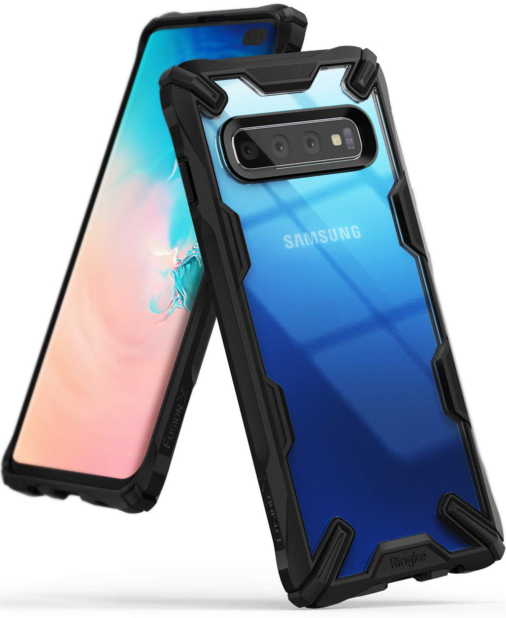 galaxy s10 plus fusion-x case black