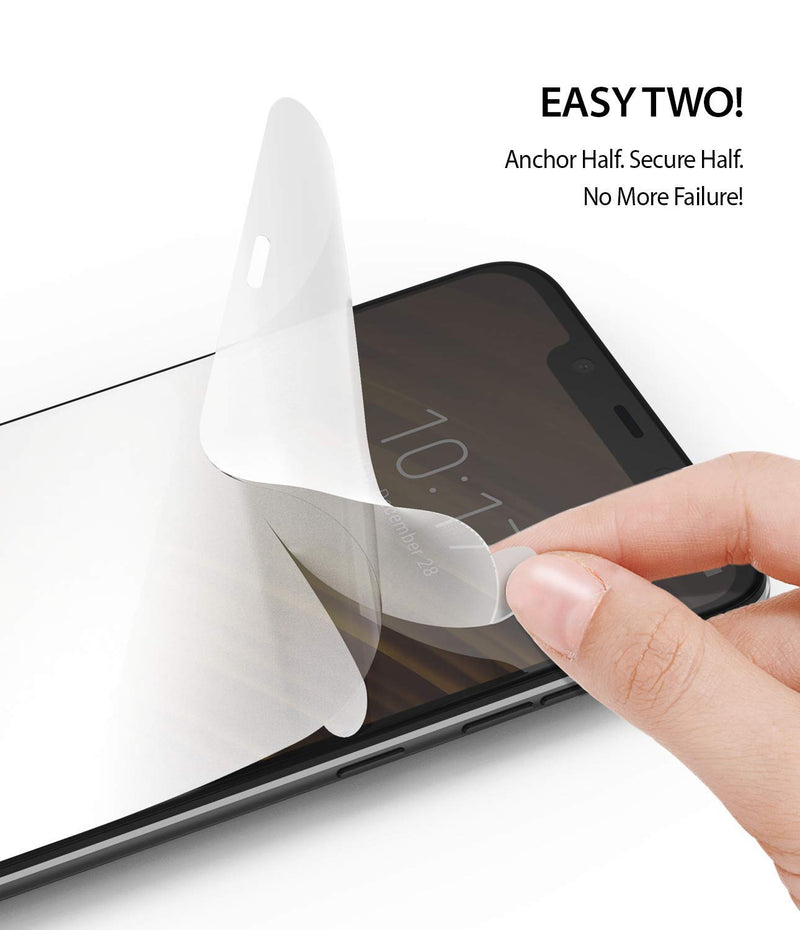 Xiaomi Pocophone F1 [Dual Easy Full Cover] Screen Protector [2 Pack]