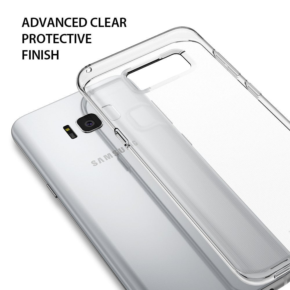 samsung galaxy s8 plus case ringke air case extreme lightweight thin transparent soft flexible tpu case