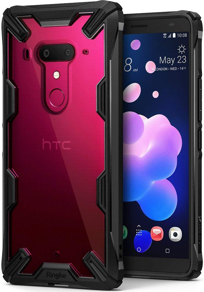 htc u12 plus fusion-x case black