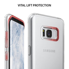 Samsung Galaxy S8 Plus Case, Ringke® [AIR] Extreme Lightweight & Thin Transparent Soft Flexible TPU Case