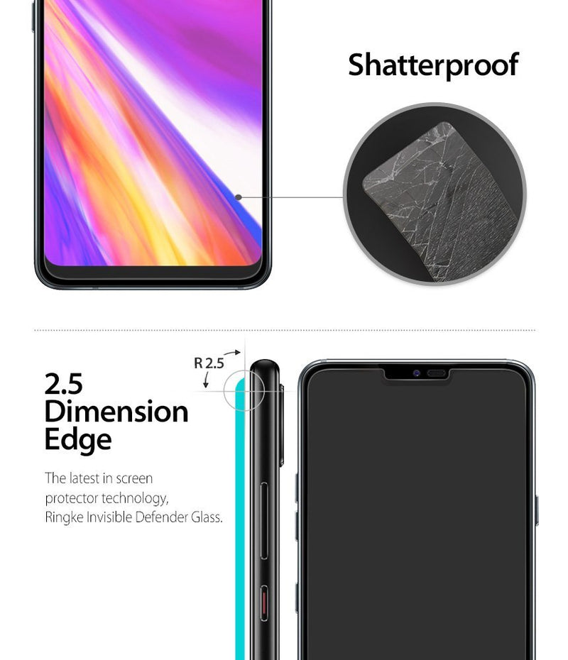 LG G7 ThinQ [Tempered Glass 0.33mm] [3 Pack]