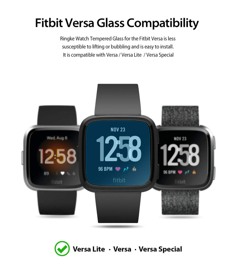 Fitbit Versa [INVISIBLE DEFENDER GLASS]