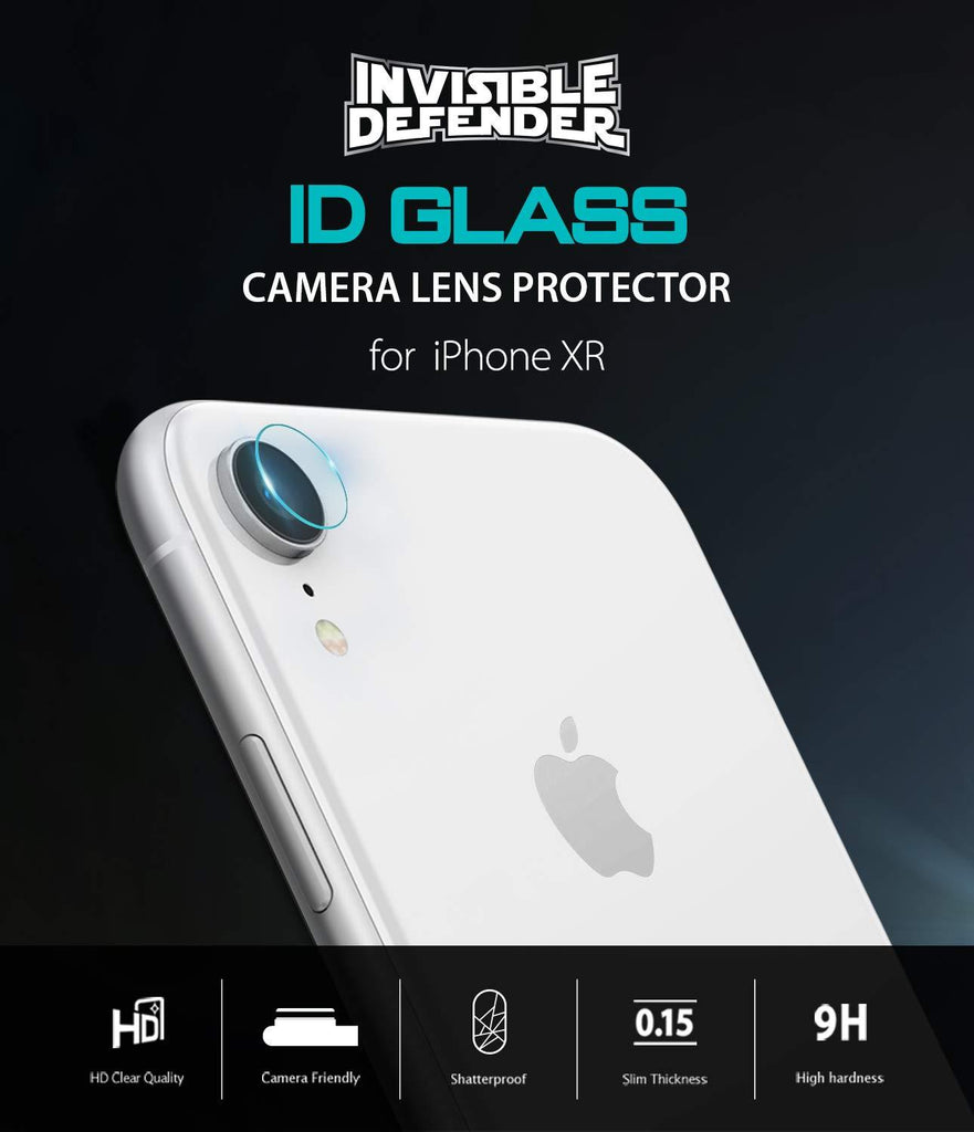 ringke invisible defender for iphone xr camera lens protector glass