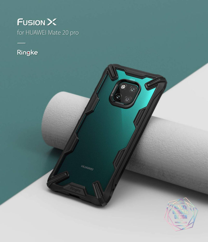 huawei mate 20 pro fusion-x case ruby red