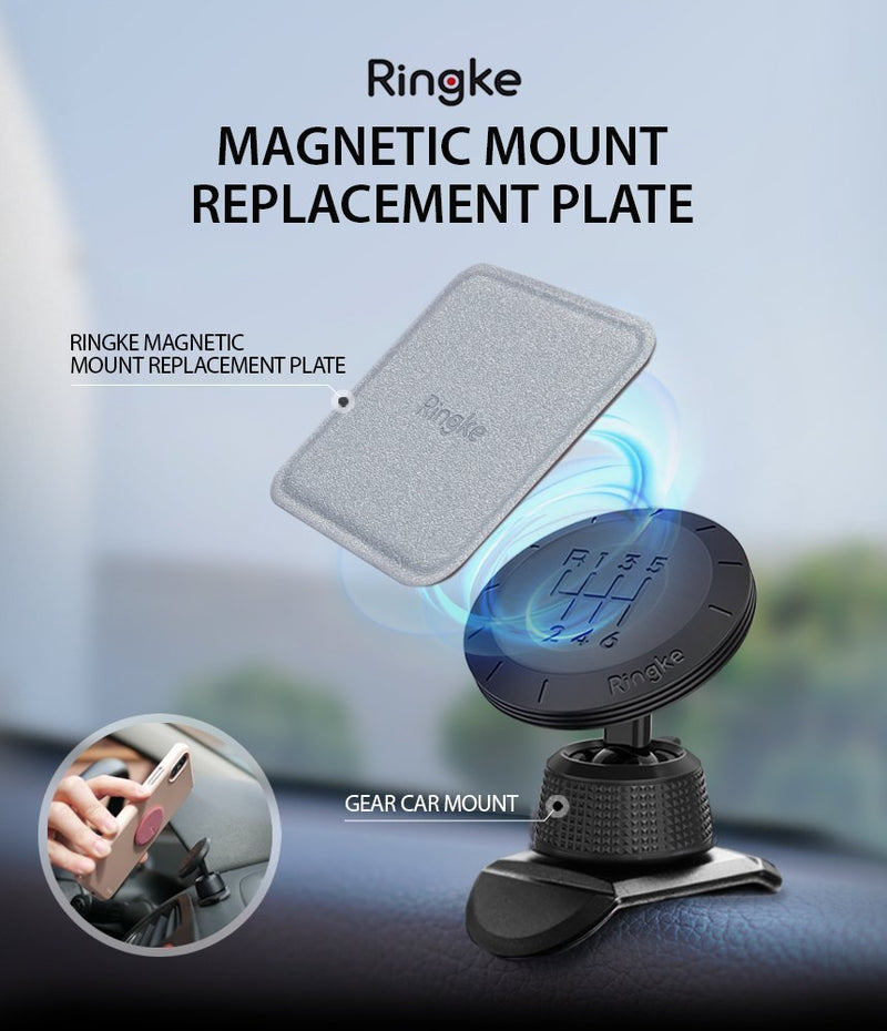 ringke magnetic mount metal plate
