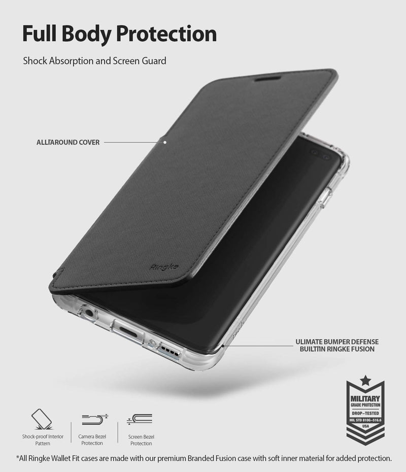 galaxy s10 plus wallet fit case
