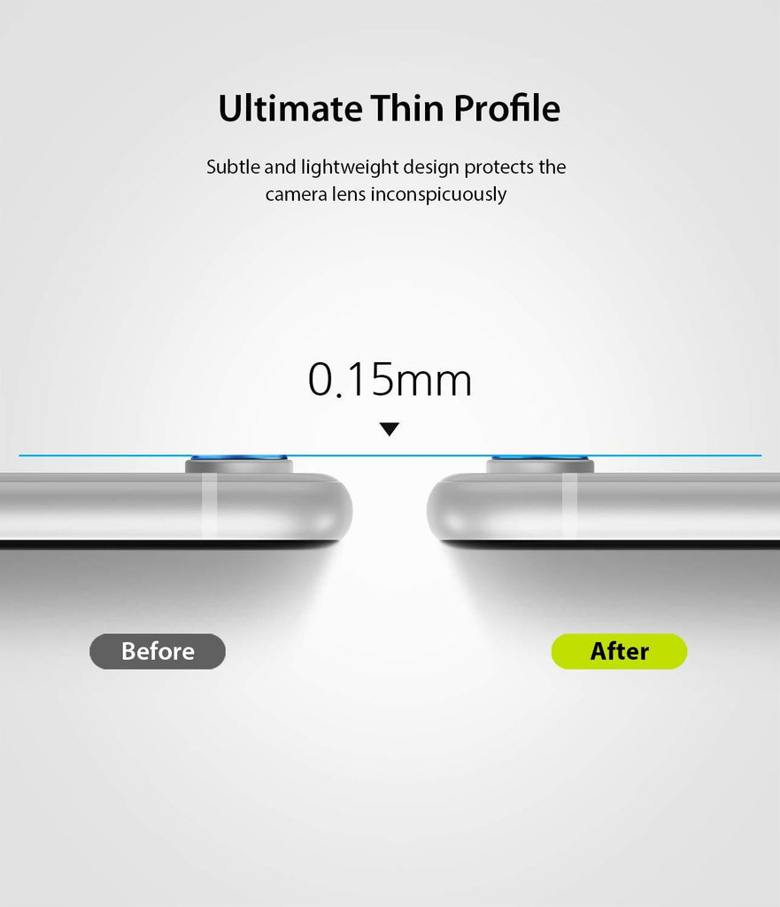 ringke invisible defender for iphone xr camera lens protector glass ultimate thin profile