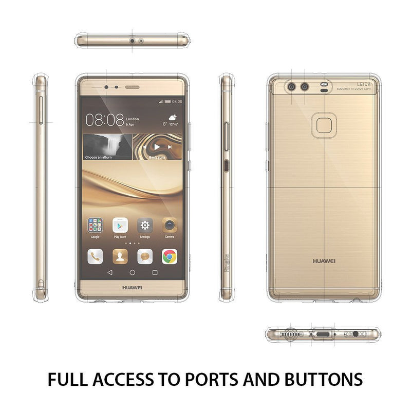 huawei p9 plus case ringke fusion case crystal clear pc back tpu bumper case