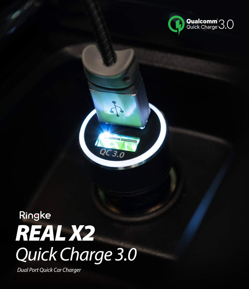 ringke realx2 quick charge 3 0