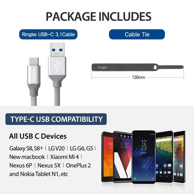 USB Type C Cable [3.4ft]
