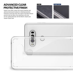 LG V20 Case, Ringke®[FUSION] Crystal Clear PC Back TPU Bumper Case