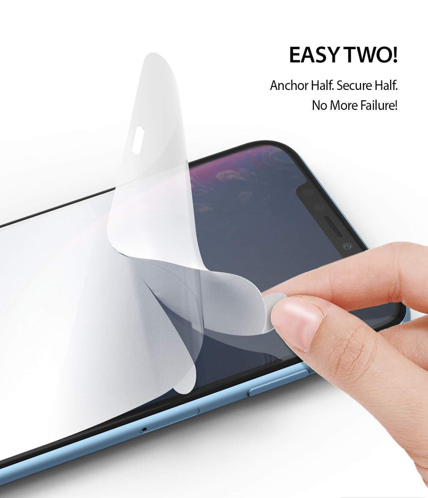 ringke dual easy film for iphone xr screen protector main easy step two