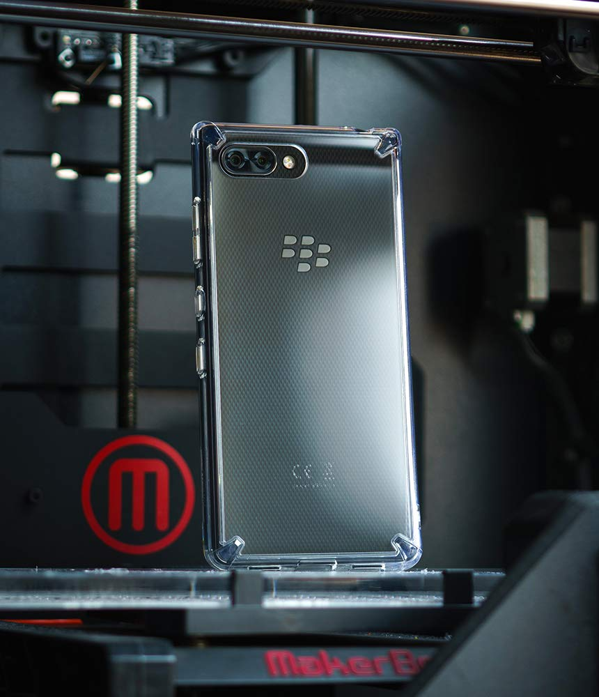 ringke fusion designed for blackberry key2 - clear