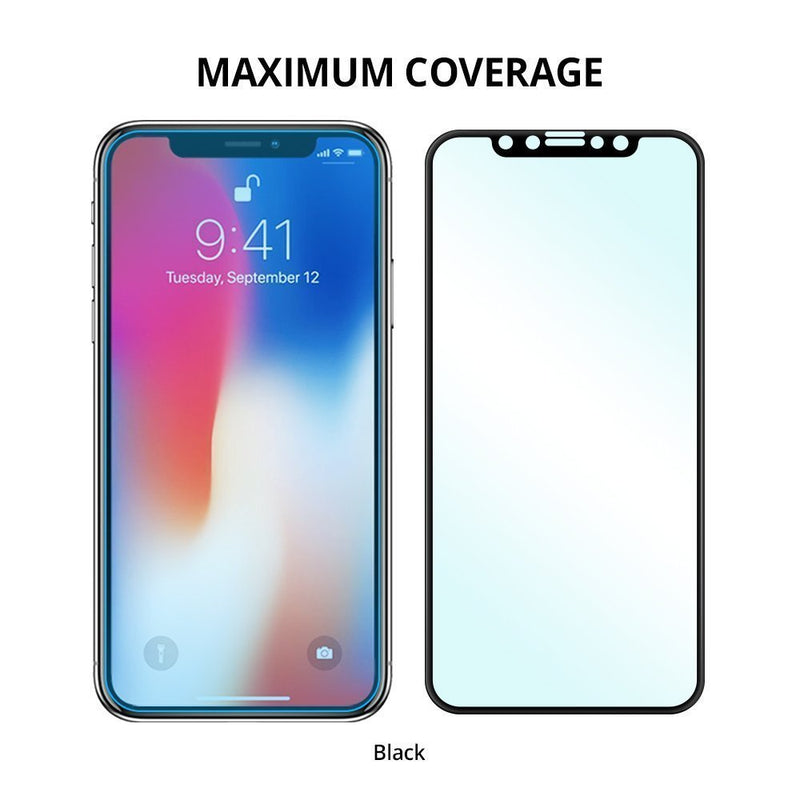 apple iphone x ringke tempered glass full coverage