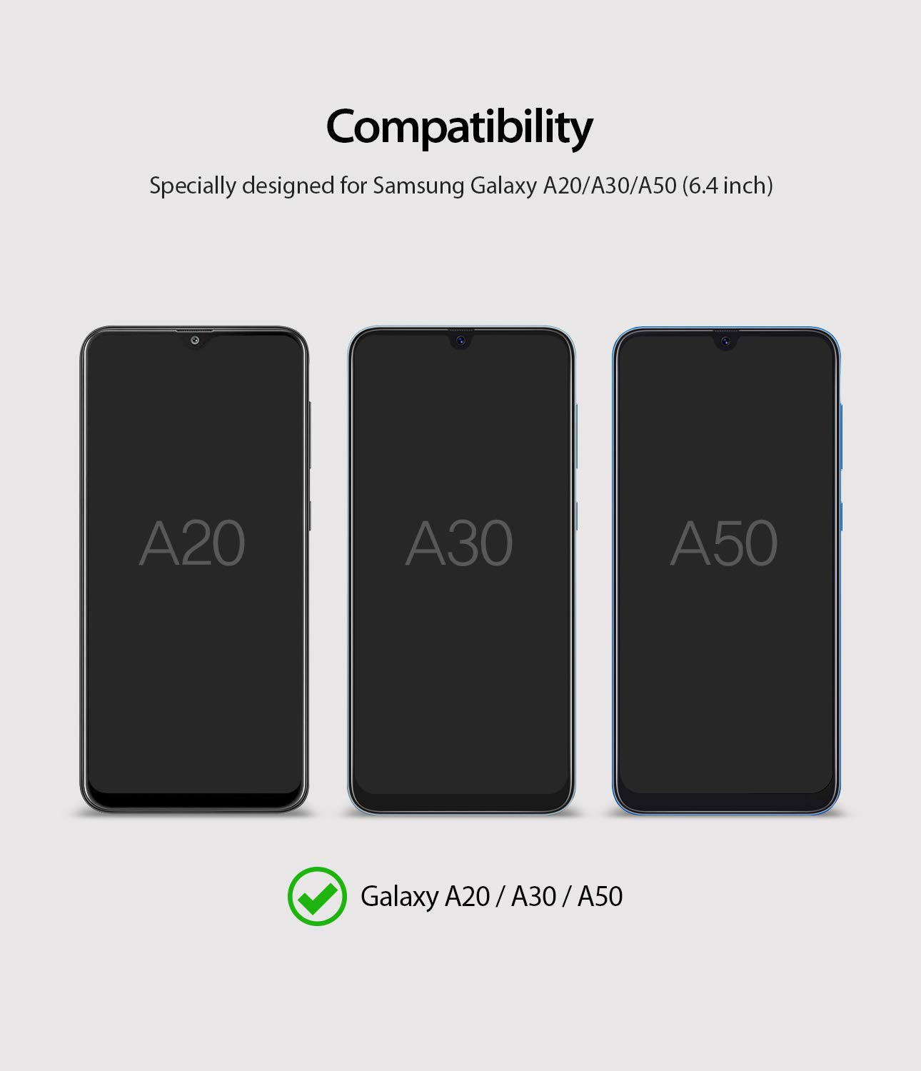 compatible with galaxy a20 / a50 / a30