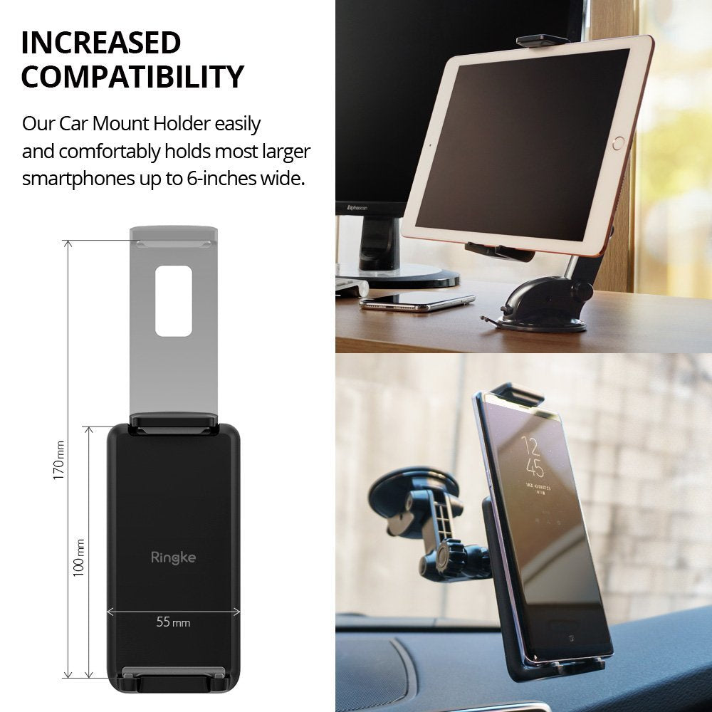 ringke monster car mount - compatible with most smartphones