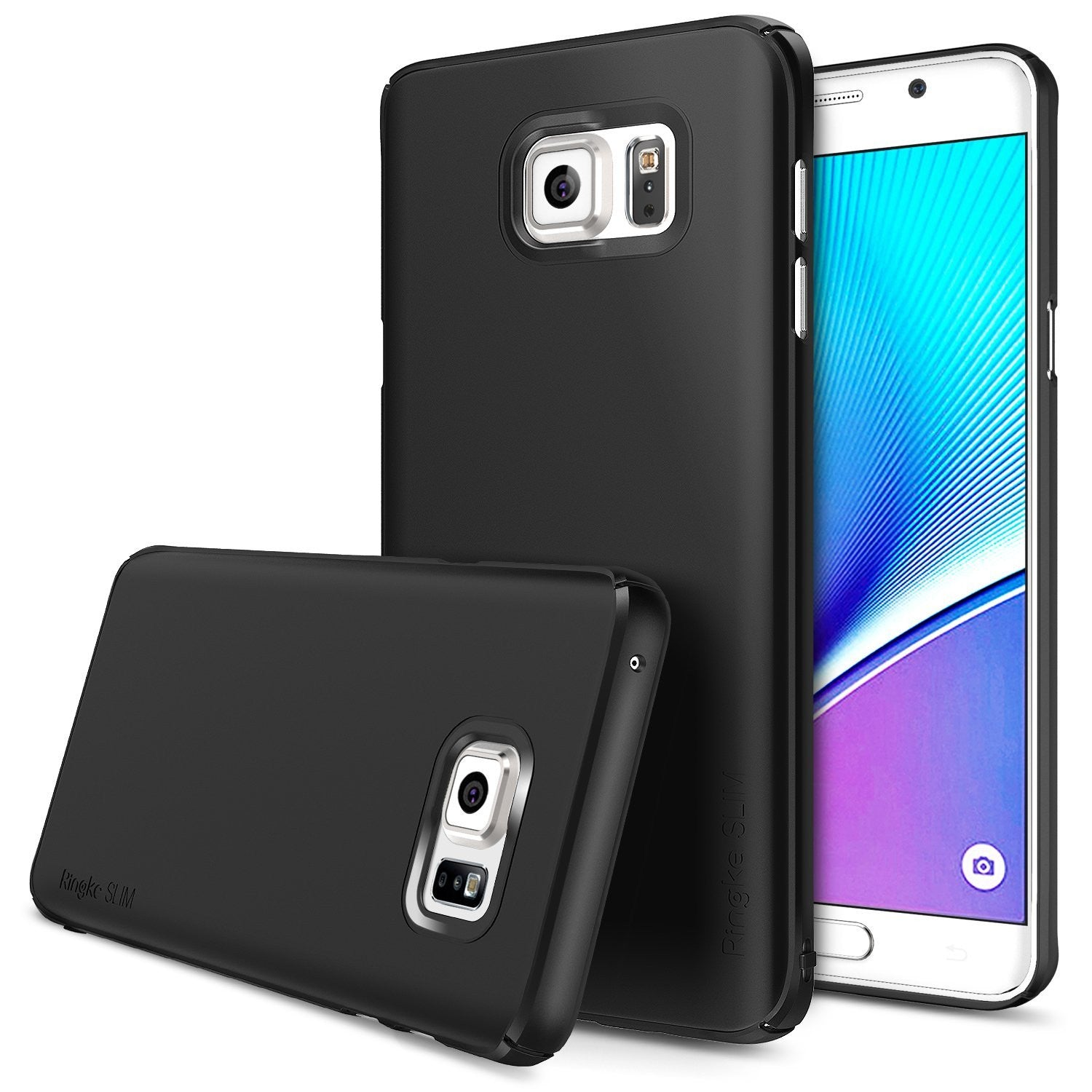 Galaxy Note 5 Case, Ringke® [Slim] Lightweight & Thin Superior Coaring PC Hard Case