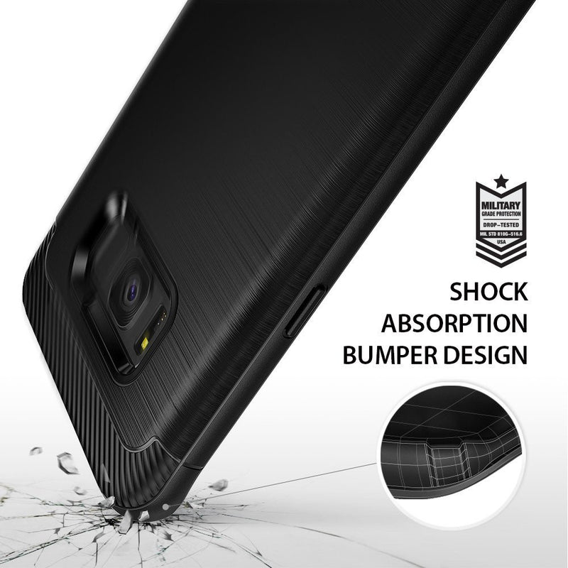 Samsung Galaxy S8 Case, Ringke® [ONYX] Flexible Durability and TPU Defensive Case