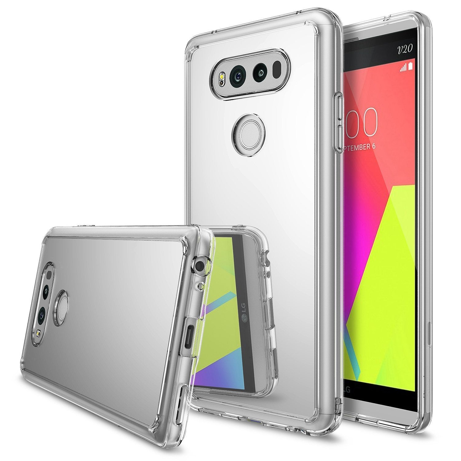 LG V20 Case, Ringke® [FUSION MIRROR] Bright Reflection Radiant Luxury Mirror Case