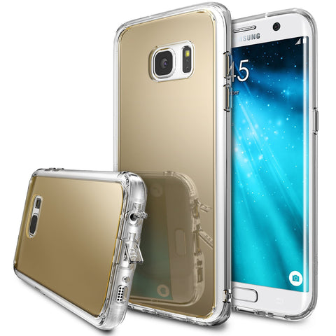 Galaxy S7 Edge Case, Ringke® [FUSION MIRROR] Bright Reflection Radiant Luxury Mirror Case