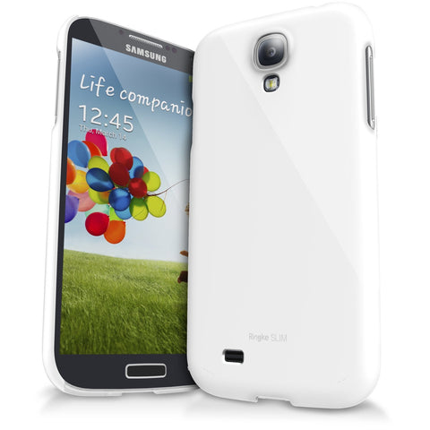 Galaxy S4 Case, Ringke®[Slim] Lightweight & Thin Superior Coaring PC Hard Case