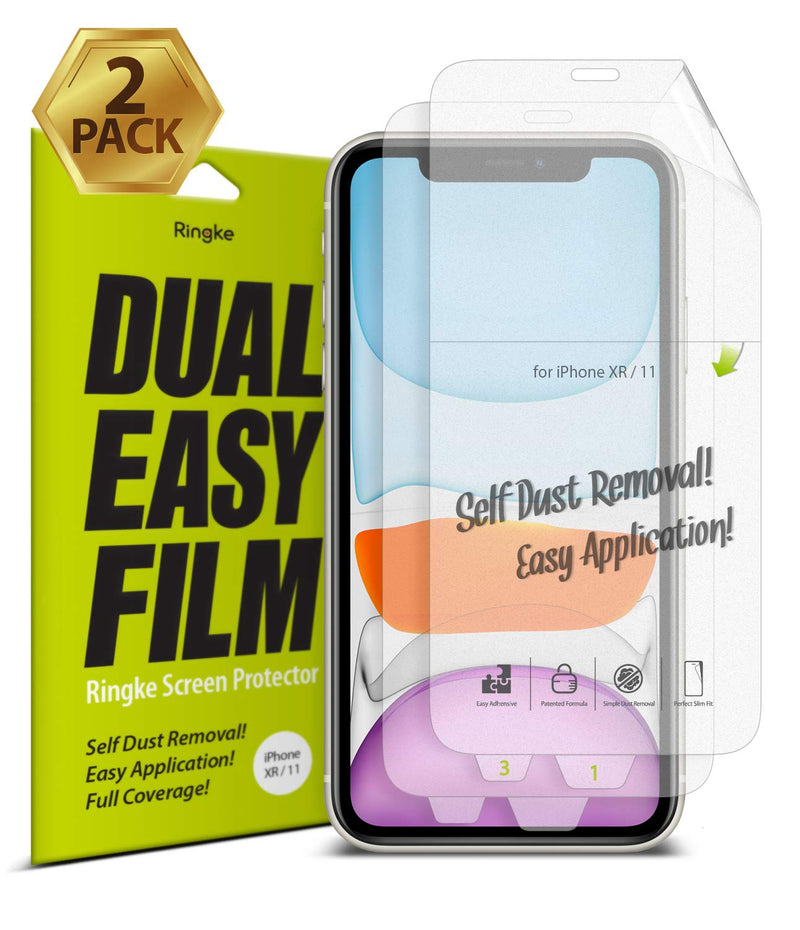 iPhone 11 [Dual Easy Film] Screen Protector