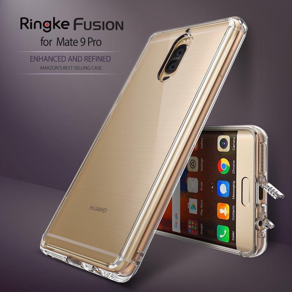 huawei mate 9 pro case ringke fusion case crystal clear pc back tpu bumper case