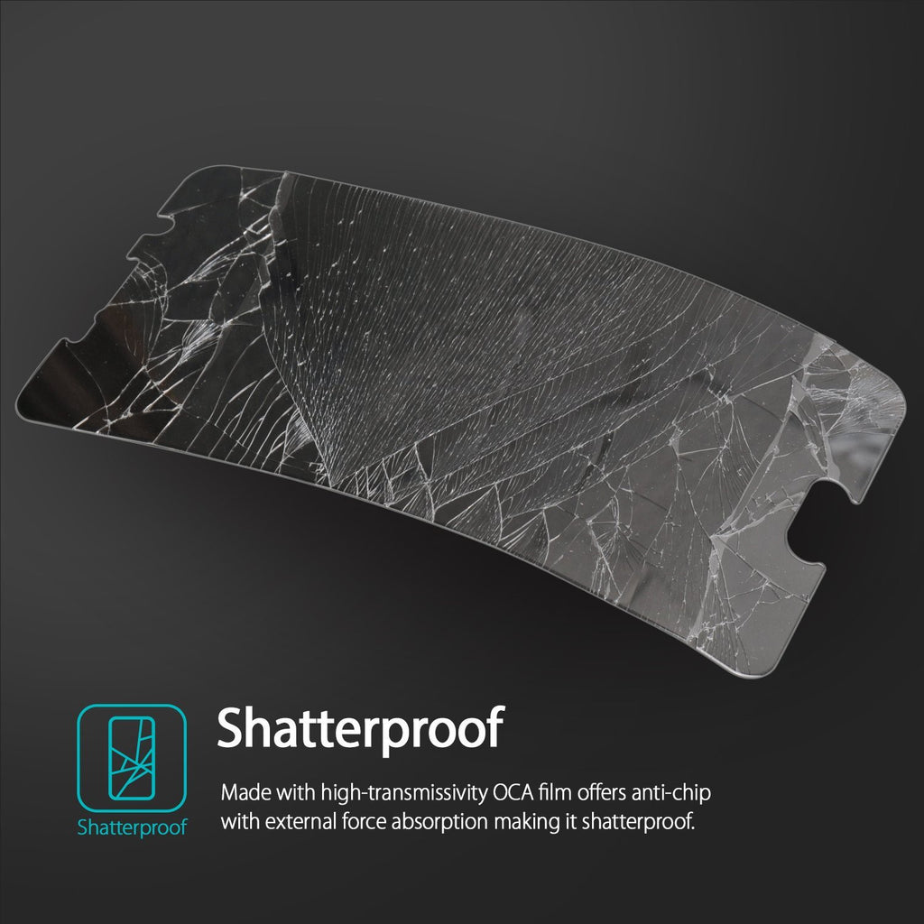 ringke tempered glass invisible defender screen protector for google nexus 6p main shatterproof