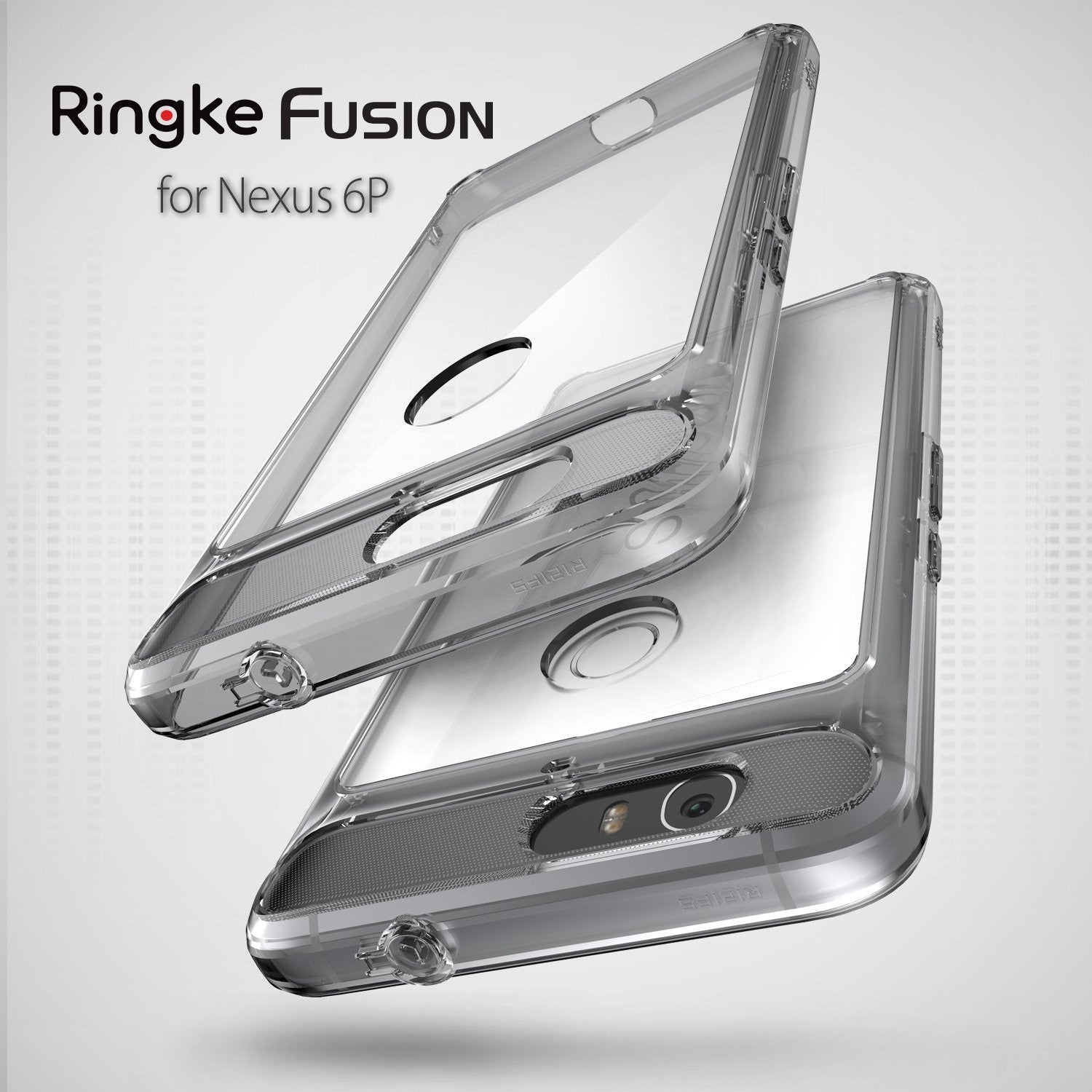 ringke fusion clear transparent hard back case cover for google nexus 6p main