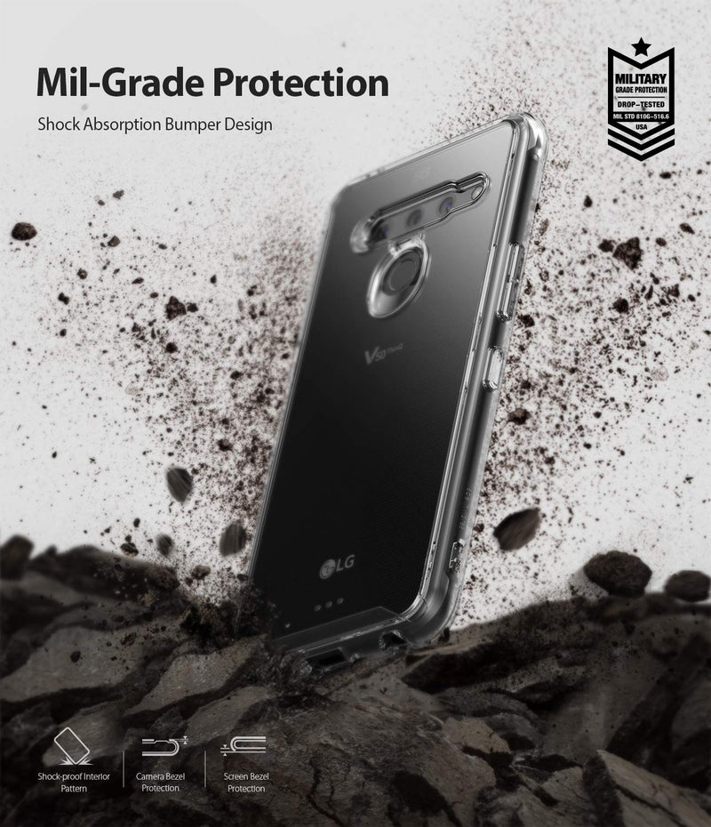 "Ringke Fusion Designed for LG V50 ThinQ 5G Case Protective Cover 6.4"" (2019)"