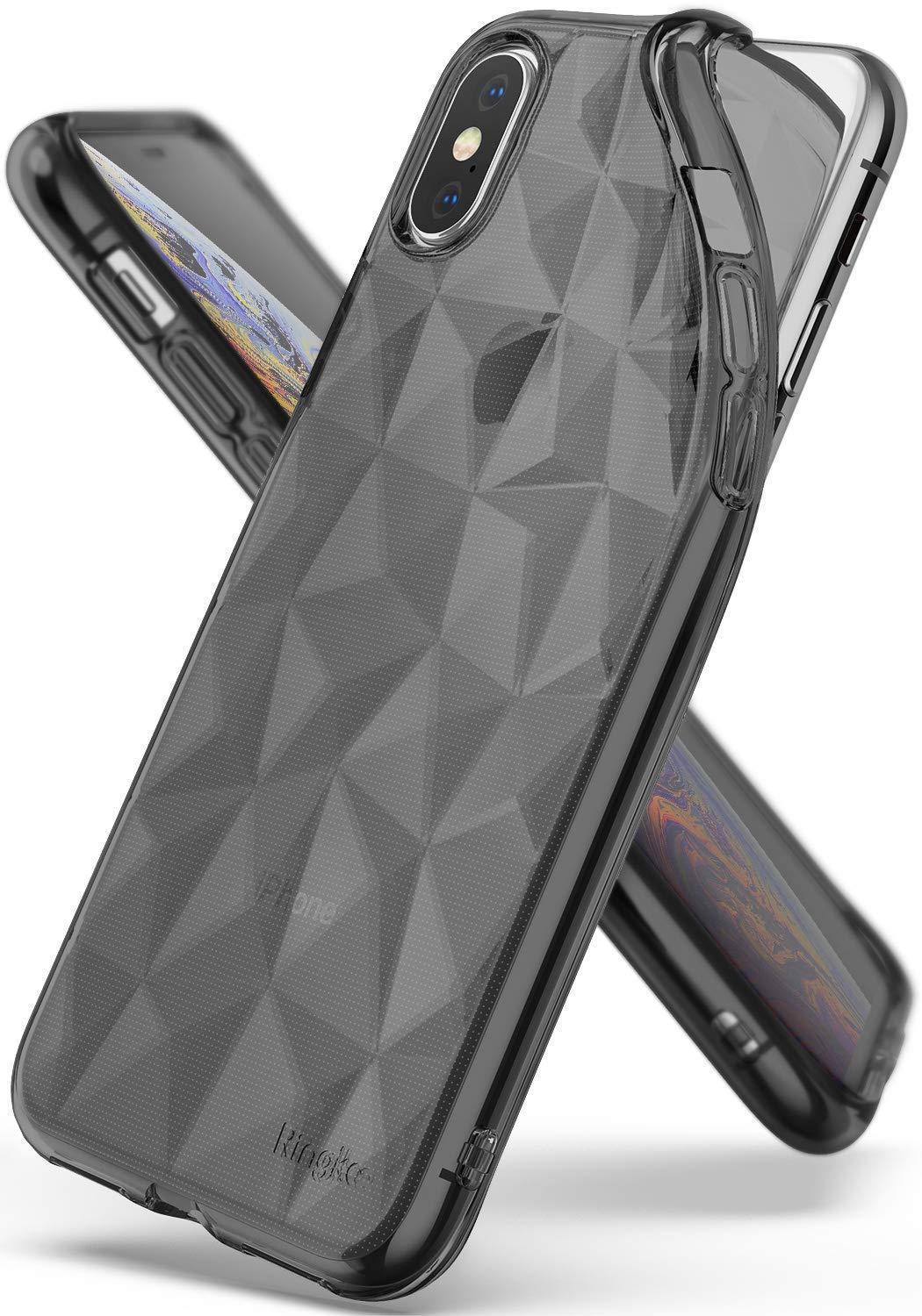 ringke air prism for iphone xs case cover main smoke black
