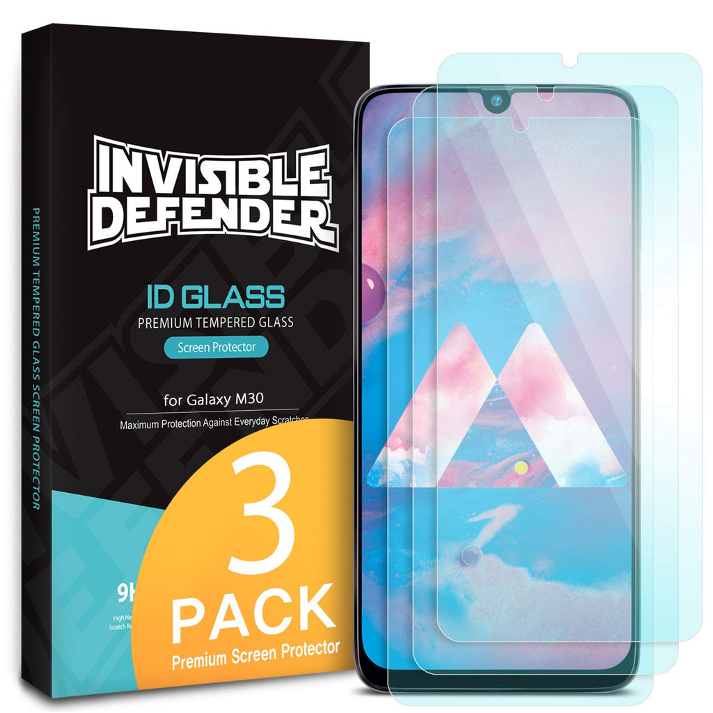 Galaxy M30 [Tempered Glass 0.33mm] [3 Pack]