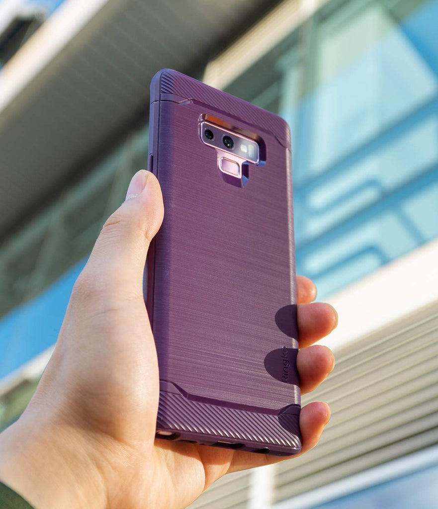 galaxy note 9 case ringke onyx lilac purple