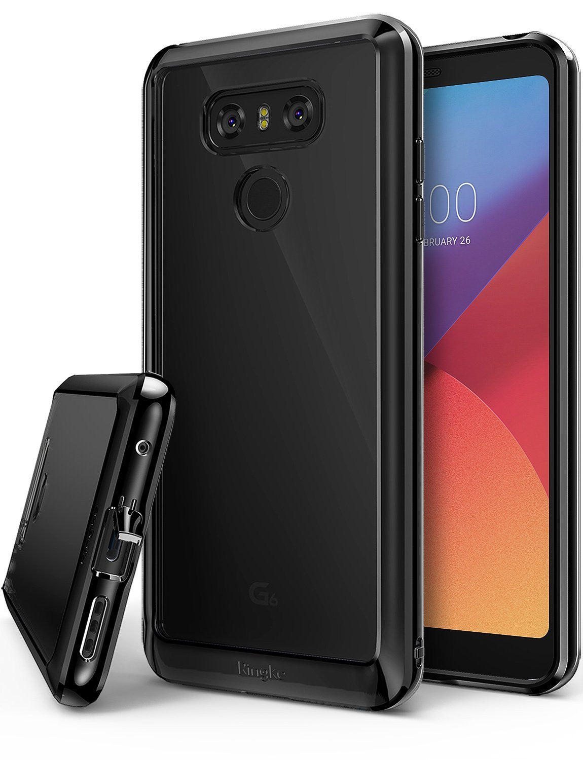 lg g6 case ringke fusion ink black