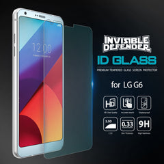LG G6, Ringke®[INVISIBLE DEFENDER] 0.33mm Tempered Glass Screen Protector