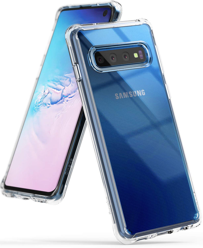 galaxy s10 fusion case clear