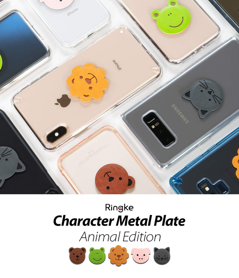 Ringke® Magnetic Character Metal Plate Kit - Animal Edition