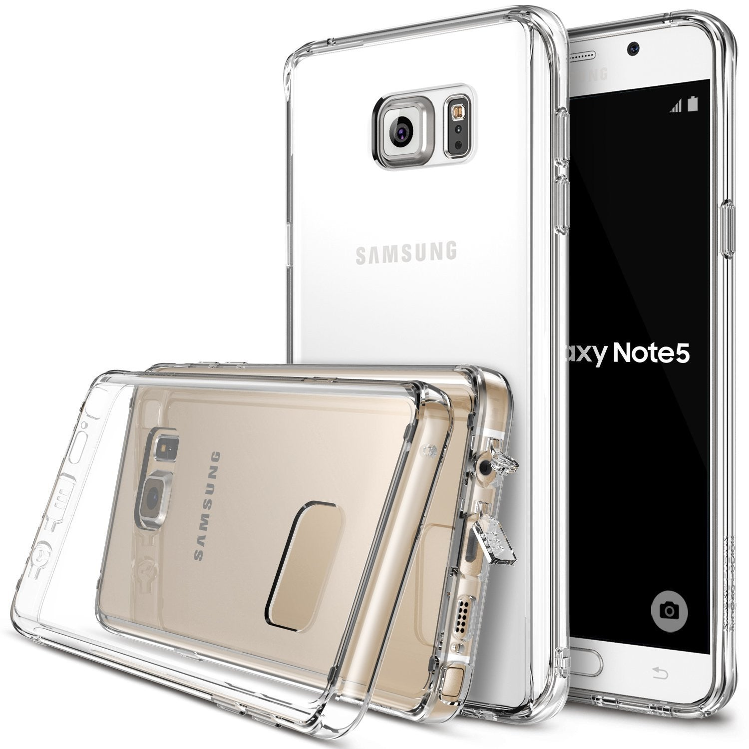 ringke fusion for samsung galaxy note 5 - clear