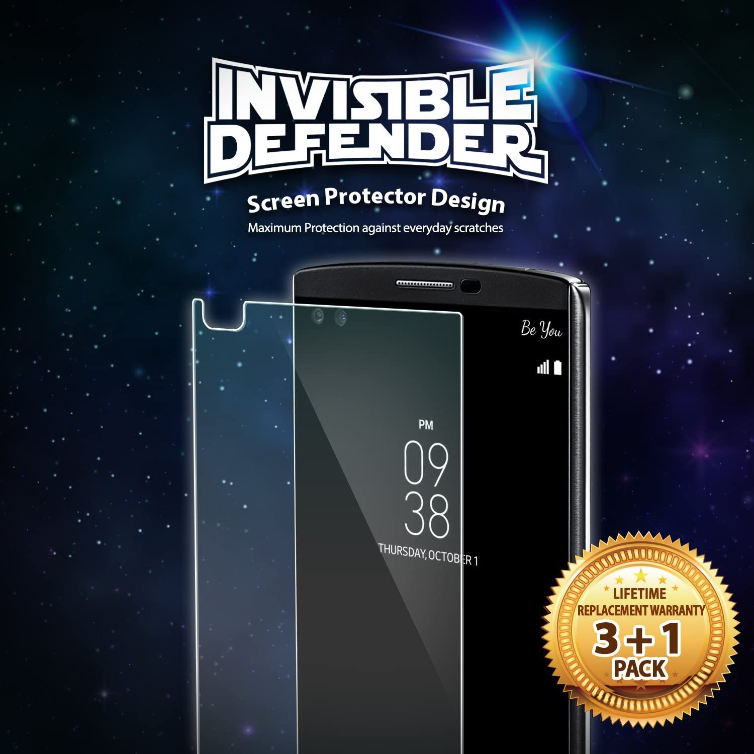lg v10 screen protector - ringke invisible defender