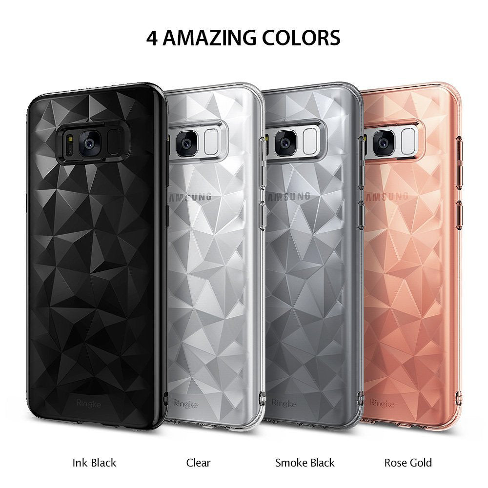 ringke air prism design back 3d flexible cover case for galaxy s8 colors