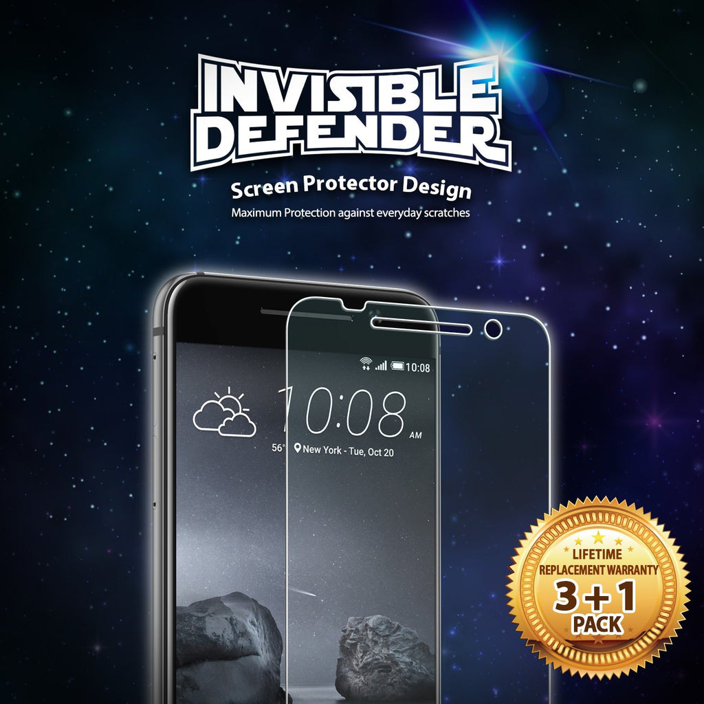 htc one a9 invisible defender 3+1 pack
